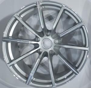Grey Single Spoke wheel hubs for the Aston Martin Vantage