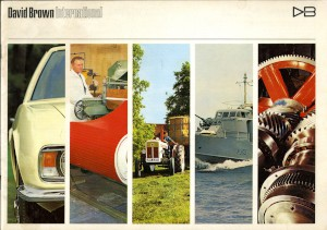 Brochure: 'David Brown International' promotional publication, published 1966.