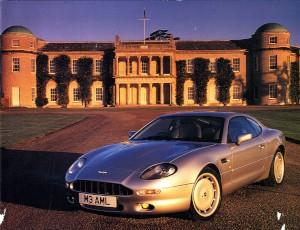 Aston Martin Christmas card