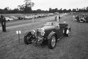 Black and White Negative Strips-Roger Stowers photographs-Oulton Park, VSCC Meeting 1975,June 14th.