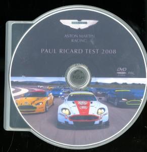 DVD  - Paul Ricard Test, 2008