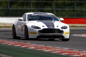 DVD: DVD containing 177 images of Aston Martin V8 Vantage GT4 (Race No. 077) racing at Spa.