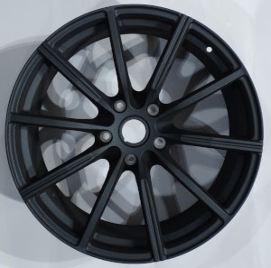 Textured Dark Single Spoke wheel hubs for the Aston Martin Vantage