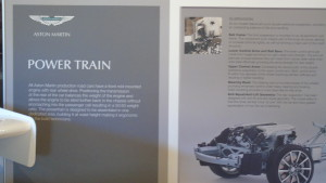 Display Board on the 'Power Train' of Gaydon-built Aston Martins