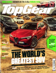 Magazine articles: Top Gear, May 2017