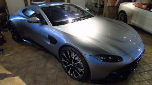 Full sized design model for the 2018 Aston Martin Vantage