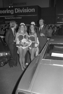 Black and White Negative Strips:Earls Court Motor Show. Aston Martin Stand.October 15-25,1975.Sheet 13.Other historic marques.