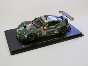 1:43 Scale Model of an Aston Martin Racing Vantage GTE from the Le Mans 24 hour, 2018