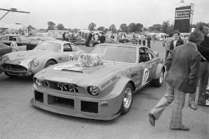 Black and White Negative Strips -1975 July 12th-Silverstone A.M.O.C. Horsfall Meeting.Aston Martin and other historic Sports Cars,all marques.Roger Stowers Collection.