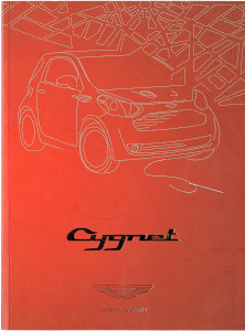 Brochure for the Aston Martin Cygnet, 2011 in Japanese