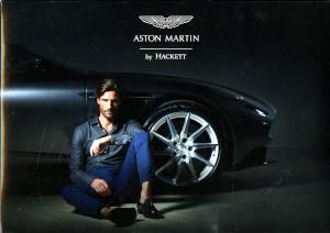 Display Board for Aston Martin By Hackett